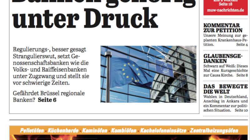 'Die Neue Woche', Ausgabe KW 11/16