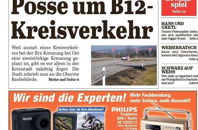 'Die Neue Woche', Ausgabe KW 12/16