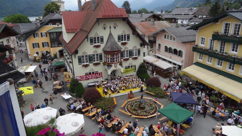 Dorffest in St.Gilgen am Samstag, 20. Juni 2015
