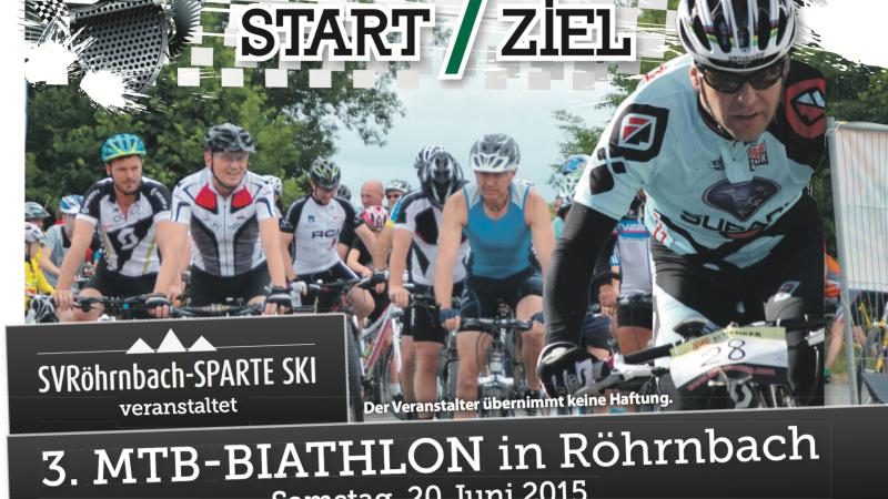 3. MTB-BIATHLON in Röhrnbach