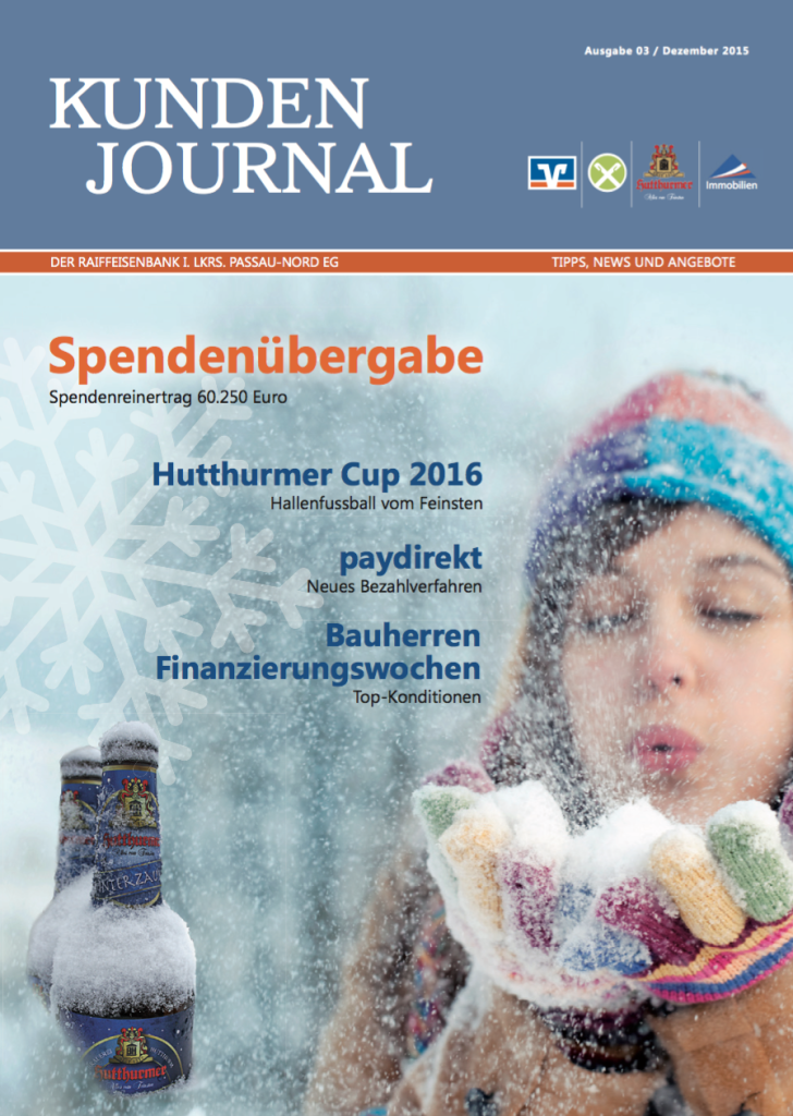 Raiba Kunden Journal Dezember 2015