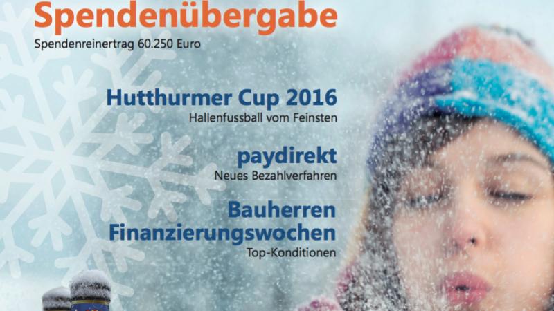 KUNDEN JOURNAL der Raiffeisenbank i. Lkr. Passau-Nord eG
