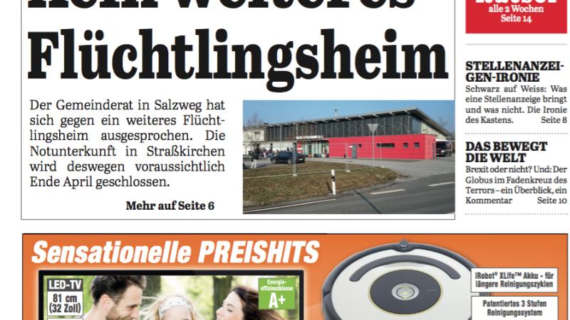 'Die Neue Woche', Ausgabe KW 13/16