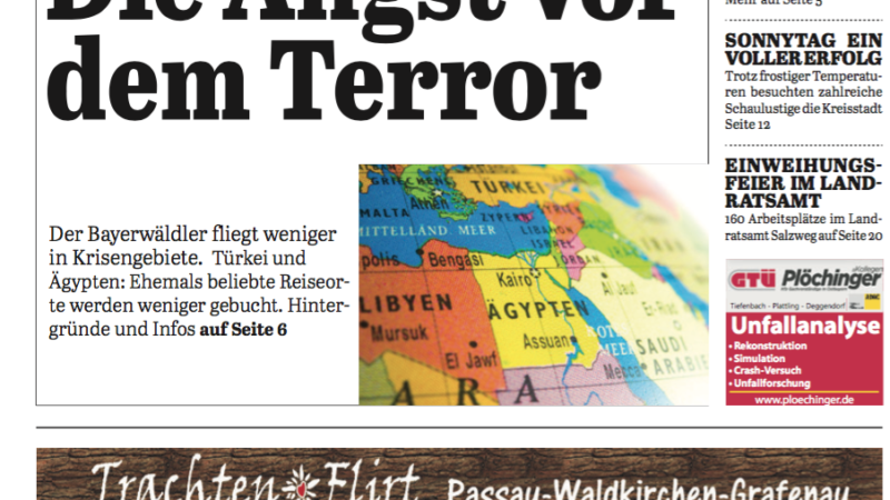 'Die Neue Woche', Ausgabe KW 17/16
