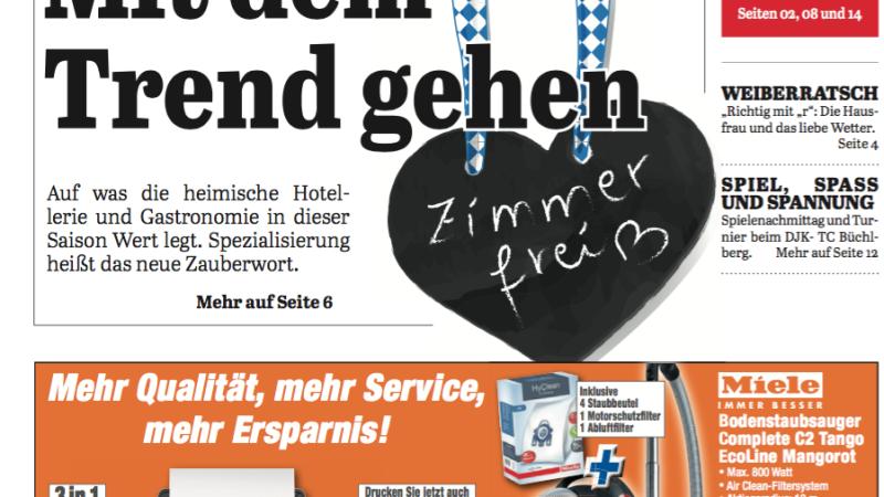 'Die Neue Woche', Ausgabe KW 14/16