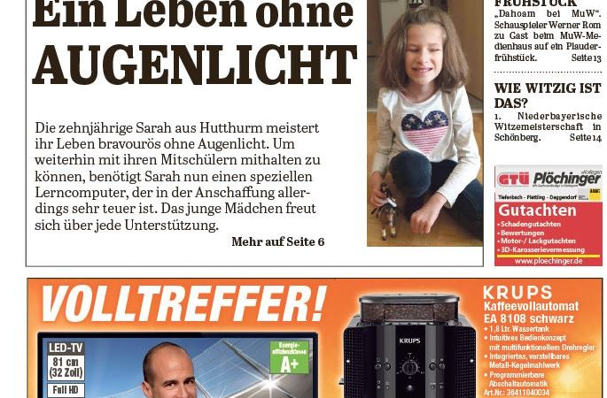 'Die Neue Woche', Ausgabe KW 18/16