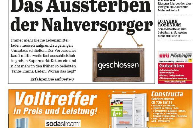 'Die Neue Woche', Ausgabe KW 22/16