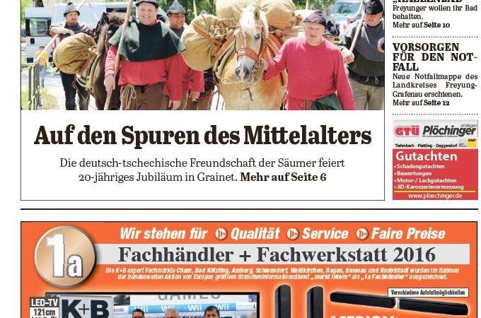 'Die Neue Woche', Ausgabe KW 26/16