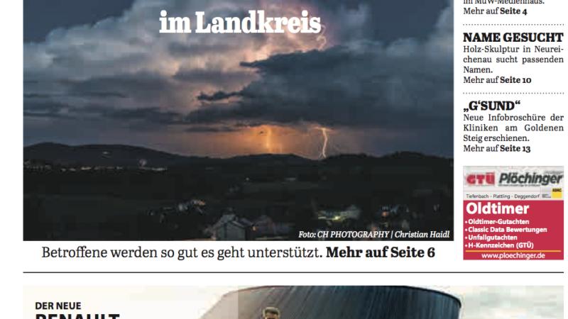 'Die Neue Woche', Ausgabe KW 27/16