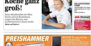 'Die Neue Woche', Ausgabe KW 31/16