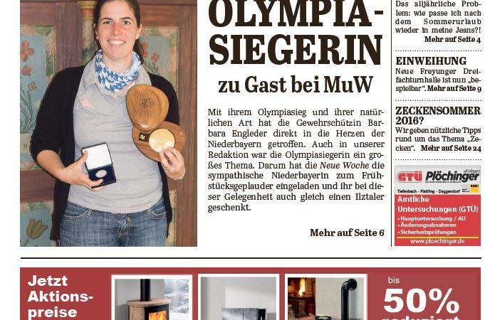'Die Neue Woche', Ausgabe KW 37/16
