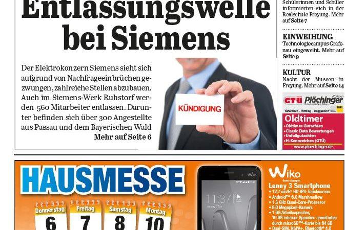 'Die Neue Woche', Ausgabe KW 40/16
