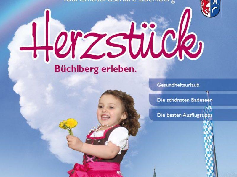Tourismusbroschüre für die Gemeinde Büchlberg