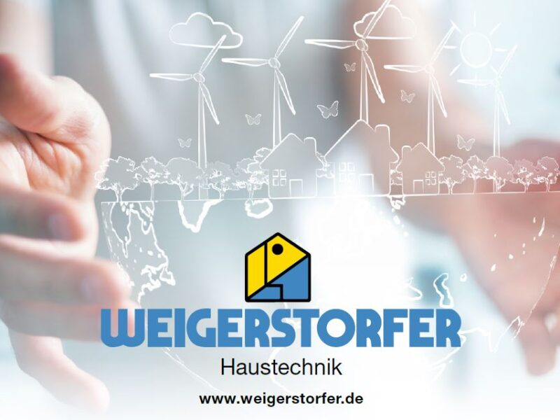 Neuer Flyer für Weigerstorfer Haustechnik
